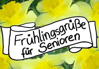 Frühlingsgrüße für Senioren