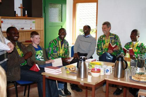 Afrikanische Gäste