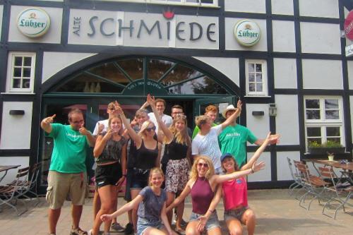 Gruppenbild Schmiede